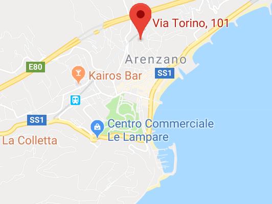 Appartamento Arenzano via Torino